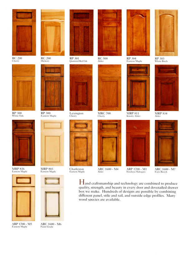 Kitchen cabinet door styles names roselawnlutheran for Kitchen cabinets styles