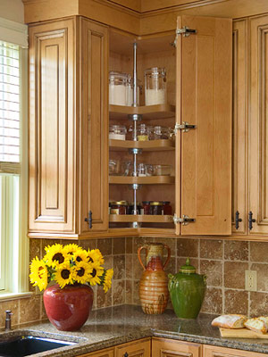 Upper Corner Kitchen Cabinet Ideas